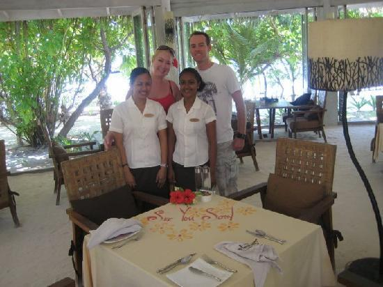Anantara Veli Maldives Resort: 73 Degrees  -  Our Last beakfast