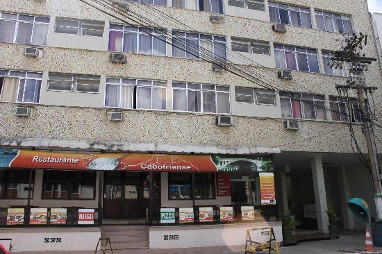 Hotel Marlen: restaurant y entrada al hotel