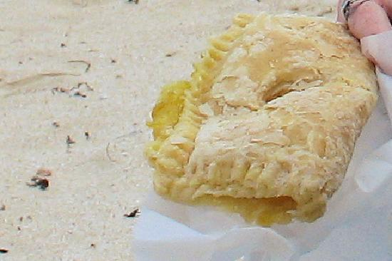 L.S.L. Restaurant & Bakery: $2 Pineapple Puff Pastry - packed full