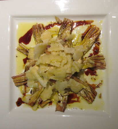 Papposileno: Artichoke salad