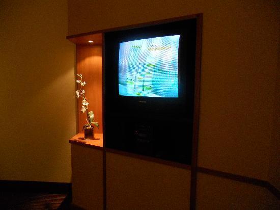 Fairfield Inn & Suites Cherokee: Tv area