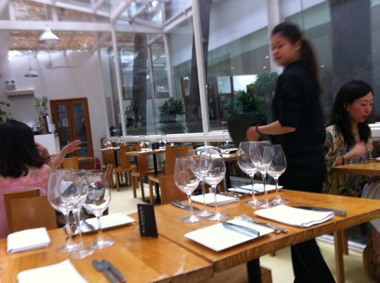 Alameda: The restaurant