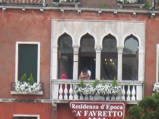 San Cassiano Residenza d'Epoca Ca' Favretto: Venezia la citta' dell'amore/Ca'Favretto e'l'deale x il ns.nido