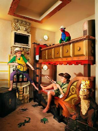 Hotel LEGOLAND: One of our special Treasure Rooms