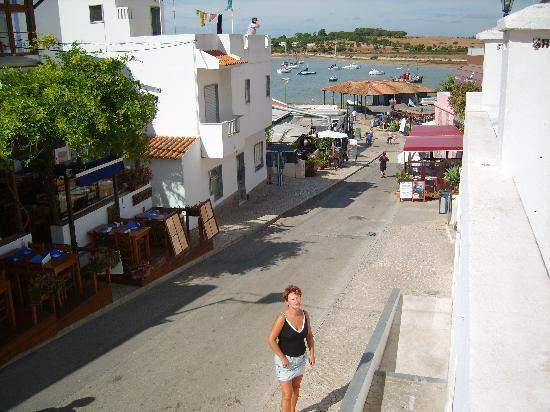 alvor street leading to habour