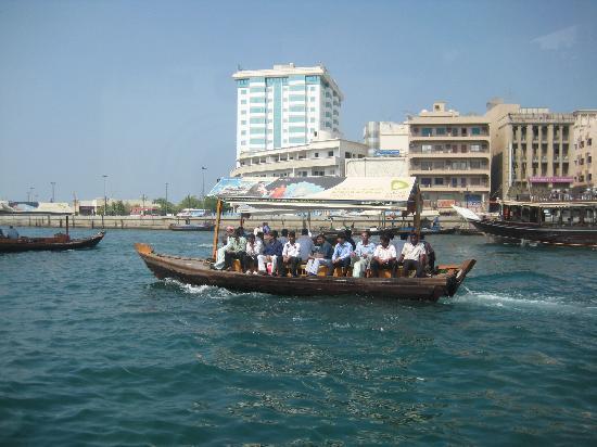 Smana Hotel Al Riqa: water taxi