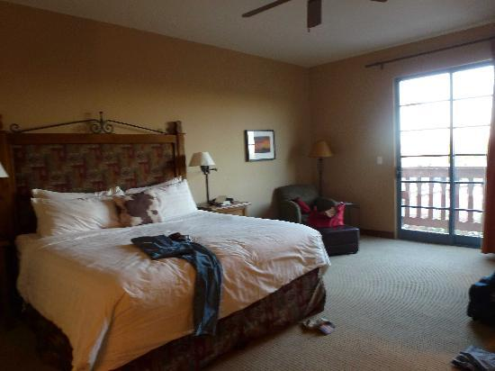 Lodge on the Desert : chambre