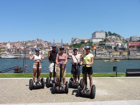Bluedragon Porto City Tours: We felt like Segway experts at the end