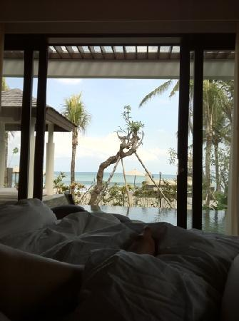 The Seminyak Beach Resort & Spa: view from our villa