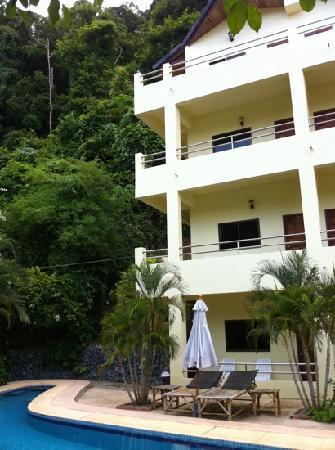 Sabai Mansion: les chambres