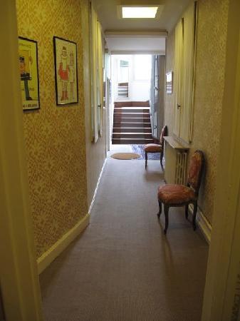 Le Flaubert: Corridor on First Floor