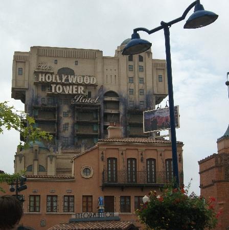 Disneyland Park: La tour de la terreur