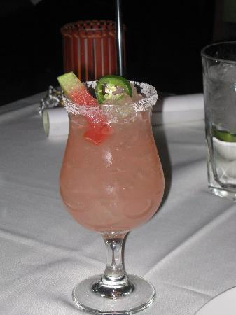 Roy's: Pepper Melon margarita