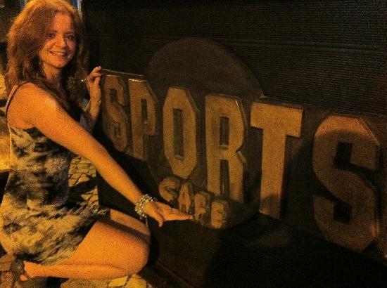 Sports Cafe : lovely!