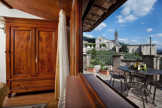San Crispino Historical Mansion: View from