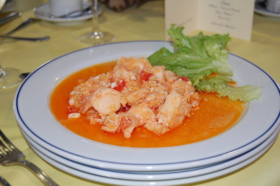 Cedeira, İspanya: excelente salpicón de langosta