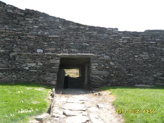 Cahergall Fort: Entrance