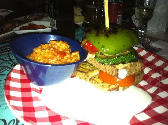 Speisesaal Graz: Gegrillte Tofu