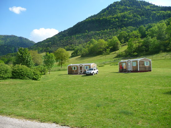 Lalley, France: mobil-home