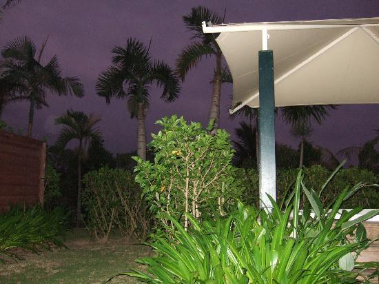 The Busena Terrace: ガゼボテラスで朝が始まる