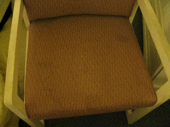 BEST WESTERN Airport Inn & Suites: Soiled chair..  disgusting!