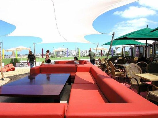 Riad RabahSadia: Escapade à Essaouira 2h de voiture Le Beach Friends sur la plage design et couvert ou en terrass