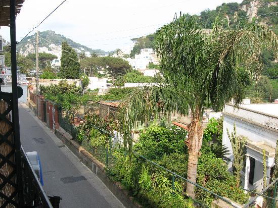 La Musa B&B: view from balcony