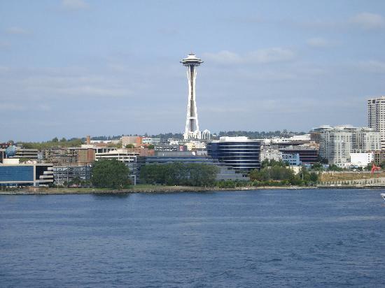Seattle, WA: skyline from ferry