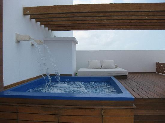 Excellence Playa Mujeres: Rooftop Plunge Pool