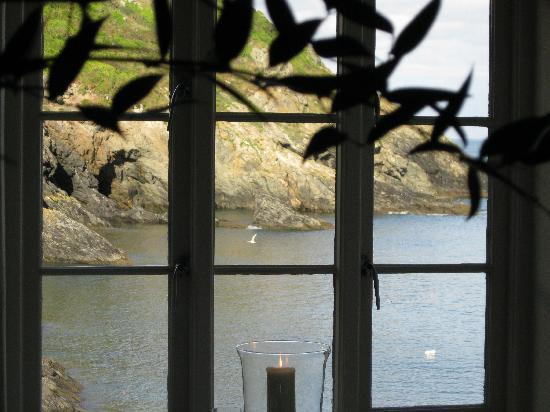 The Lugger Hotel: view from dining room