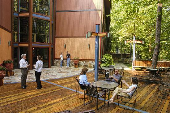 The Jack Warner at NorthRiver: Outdoor deck