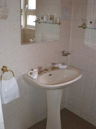 Edinburgh Lodge Hotel: bathroom