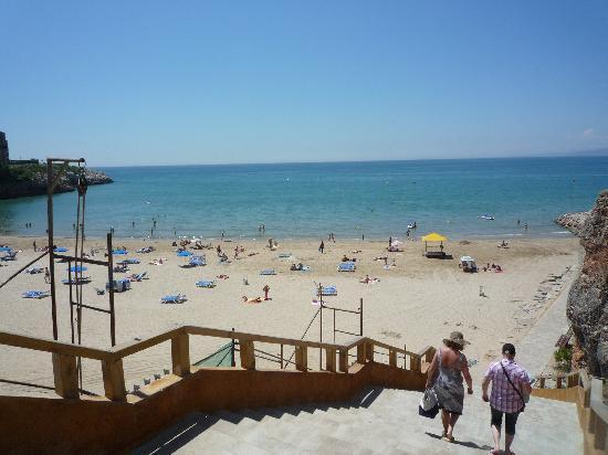 4R Salou Park Resort II : The beach - very peaceful