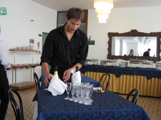 Hotel Baltic: Stefano
