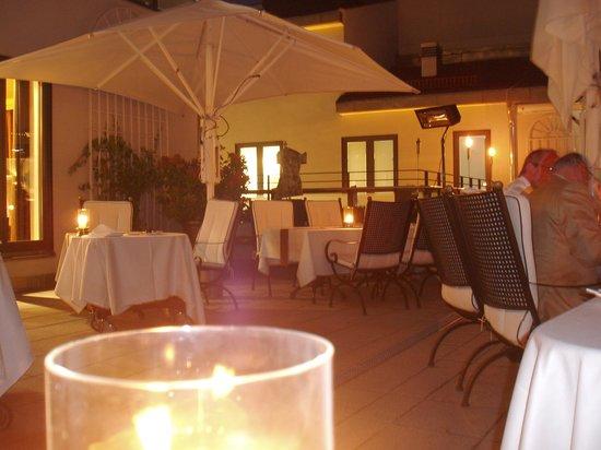 Restaurant Moritz: Dachterrasse des Restaurants