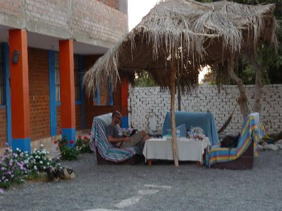 Nasca Trails B&B: The lovely comunal area