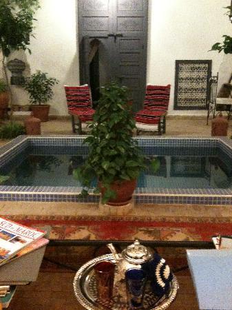 Riad Dar Shana : thé à la mente