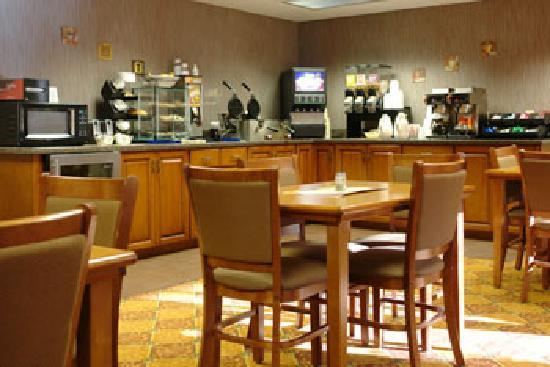 BEST WESTERN PLUS Concord Inn: Expanded Continental Breakfast