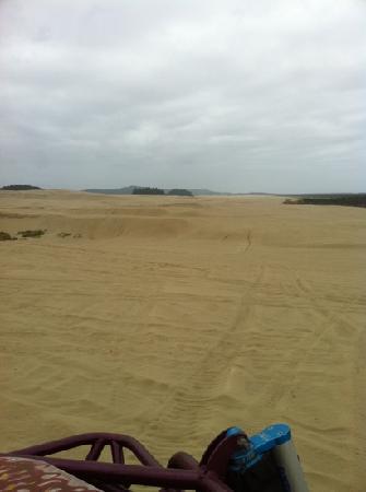 Sandland Adventures: the view