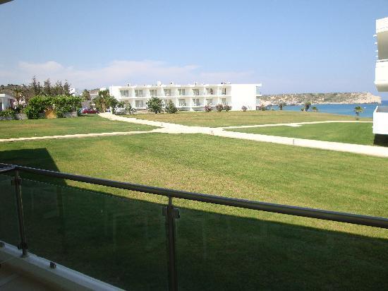 Kolymbia Beach Hotel : Vista dalla camera