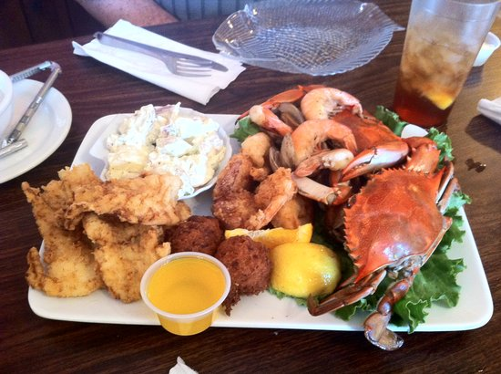 Tony S Seafood Restaurant Share Platter For Two