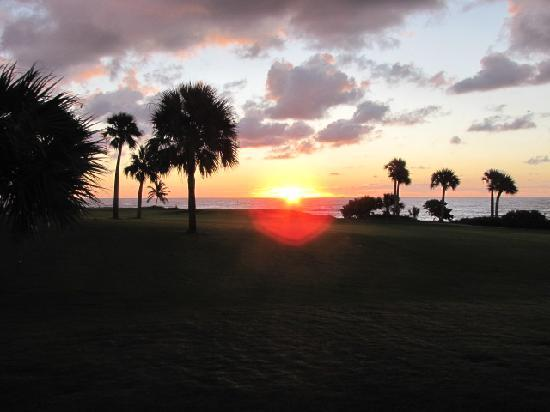 Punta Espada Golf Course : Sunset on the 17th hole