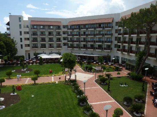Club Med Palmiye: Vue de la chmbre d'hotel coté mer
