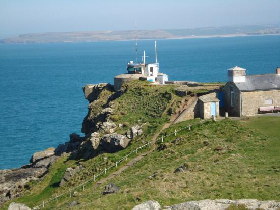The Keep: NCI Coastwatch lookout on The Island, St Ives
