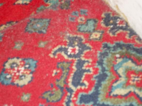 Delmont Hotel: 3rd day & stairs carpet still not cleaned!