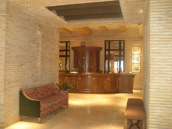 Palafox Hotel: recepcion