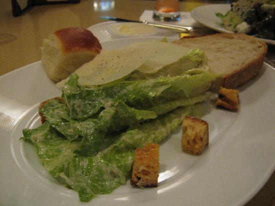 Bradley Ogden at Caesars Palace: caesar salad