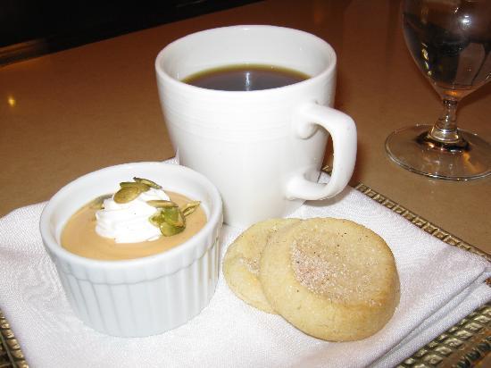 Bradley Ogden at Caesars Palace: butterscotch pudding snickerdoodle