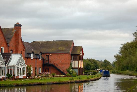 Orangery Restaurant: From the canal