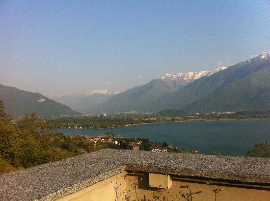 Trezzone, Italie : View from the Villa